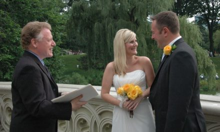 Getting Married in New York City Central Park