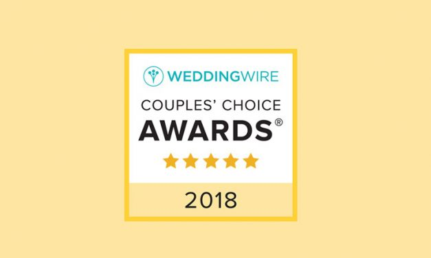 5 STARS and 192 REVIEWS (at WeddingWire)