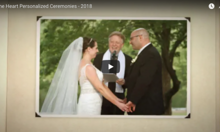One Heart Personalized Wedding Ceremonies – Video