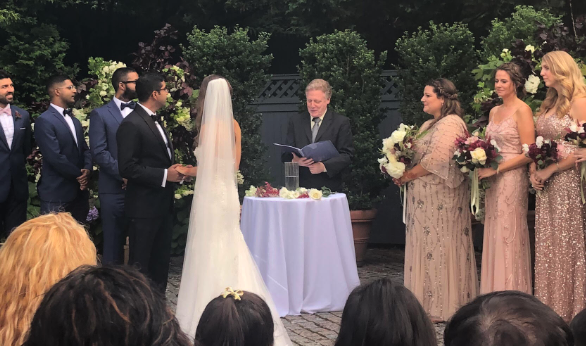 The Reviews Are In… (for Wedding Officiant Mark Giller)
